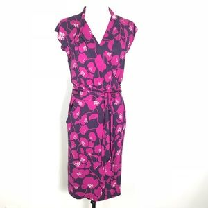 DIANE VON FURSTENBERG Wrap Dress / Sz 10